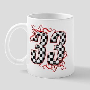 RaceFashion.com 33 Mug