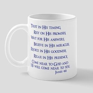 James 4:8 Mug