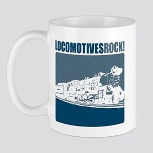 Locomotives Rock Mug