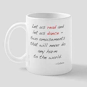 Voltaire On Dance Mug