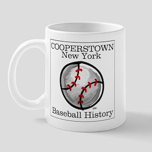 Cooperstown NY Baseball shopp Mug