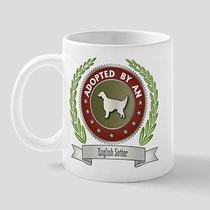 Setter Adopted Mug