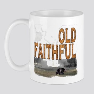 Old faithful Bear Mug