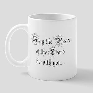 ...and also with you. Mug