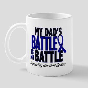 My Battle Too 1 BLUE (Dad) Mug