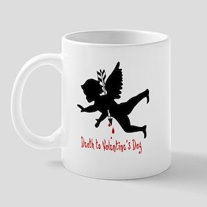 Death to Valentines Day Mug