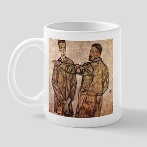 Egon Schiele Double Portrait Mug