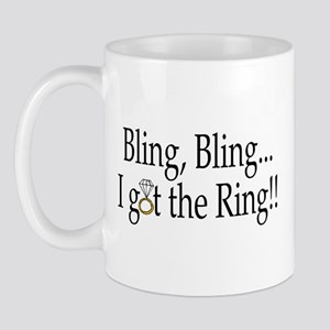 Bling Bling I Got The Ring Mug