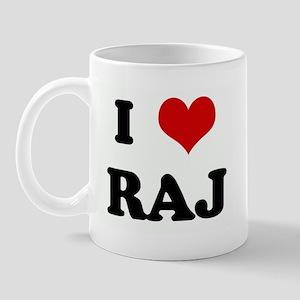 I Love RAJ Mug