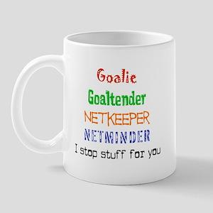 I stop stuff Mug
