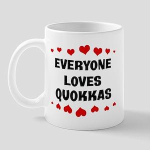 Loves: Quokkas Mug