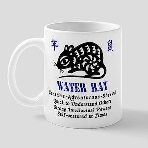 Chinese Zodiac Water Rat Mug