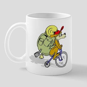 Mountain Bike Dog Mug