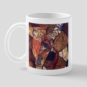 Egon Schiele Agony The Death Struggle Mug