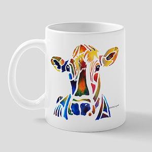 Whimzical Original Cow Art Mug