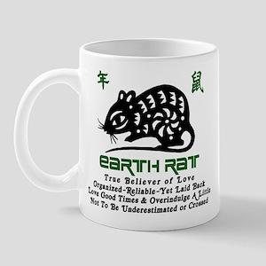 Chinese Zodiac Earth Rat Mug