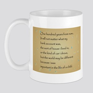 ONE HUNDRED YEARS Mug