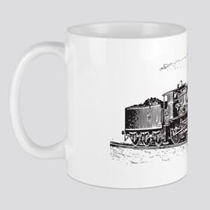 Vintage Steam Locomotive Mug