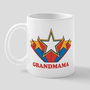GRANDMAMA (retro-star) Mug