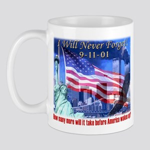 9-11 Tribute & Warning Mug