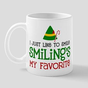 Smiling Is My Favorite Mug