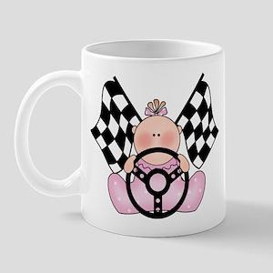 Lil Race Winner Baby Girl Mug