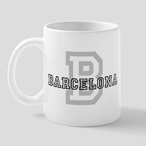 Letter B: Barcelona Mug
