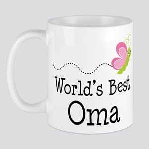 World's Best Oma Mug