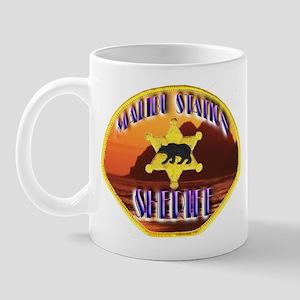 Malibu Sheriff Mug
