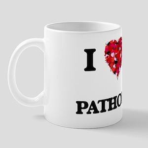 I love my Pathologist hearts design Mug