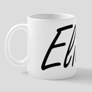 Elias Artistic Name Design Mug