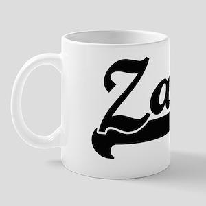 Zain Classic Retro Name Design Mug