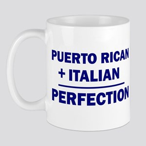 Italian + Puerto Rican Mug
