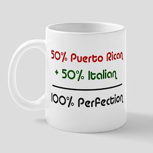 Italian & Puerto Rican Mug