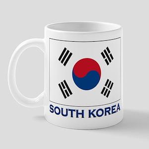 South Korea Flag Stuff Mug