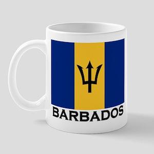Barbados Flag Stuff Mug