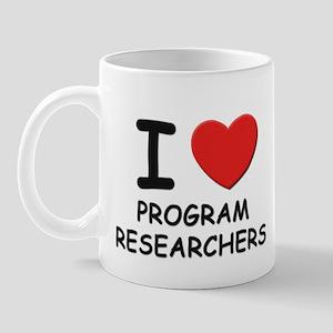 I love programmers Mug