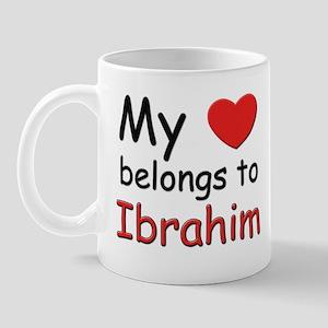 My heart belongs to ibrahim Mug