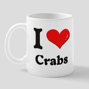 I love crabs  Mug