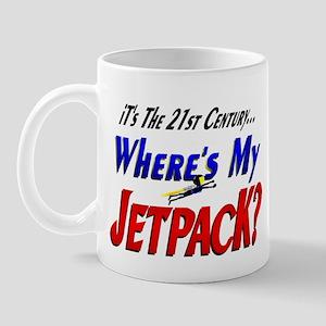 Funny Jet Pack Future Mug