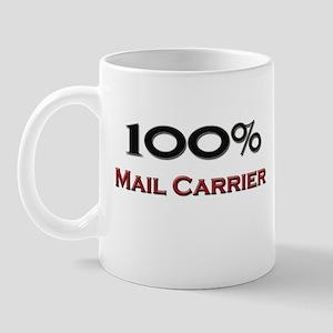 100 Percent Mail Carrier Mug