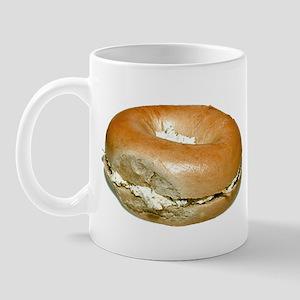 Bagel and Cream Cheese Mug