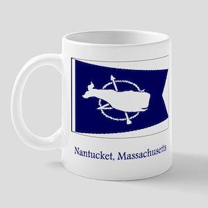 Nantucket MA Flag Mug