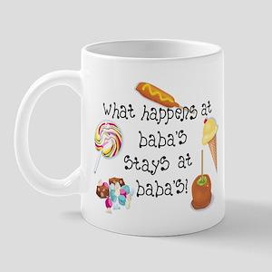 What Happens at Baba's... Mug