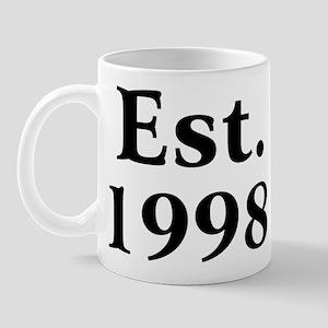 Est. 1998 Mug
