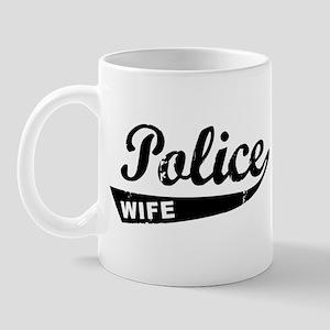 Vintage Police Wife Mug