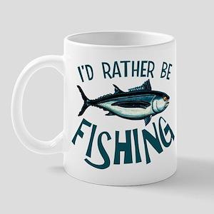 Rather Be Fishing Mug