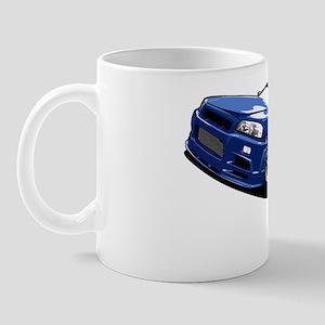 r34 GTR skyline Mug