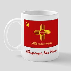 Albuquerque NM Flag Mug