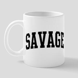 SAVAGE (curve-black) Mug